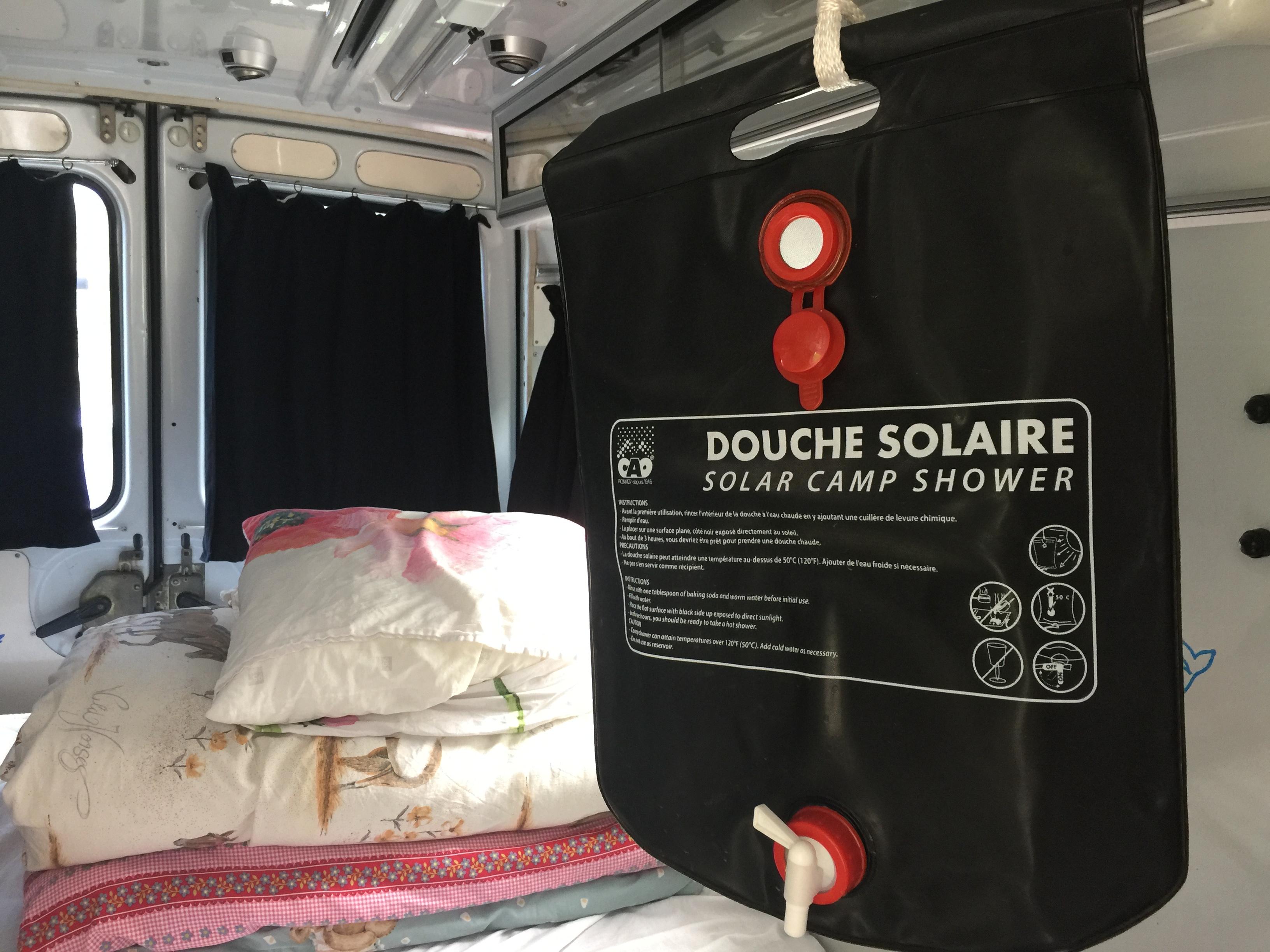Ares Douche Solaire Camp Shower 20L